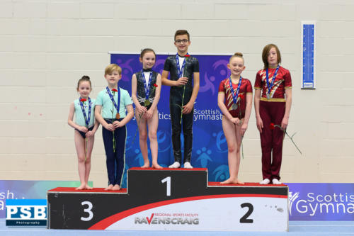 Bronze Medal - Grade 1 Mixed Pair