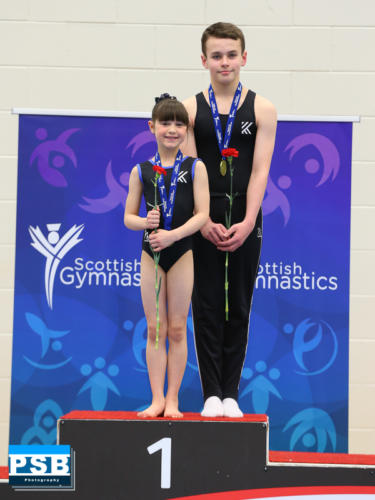 Gold Medal - Grade 3 Mixed Pair